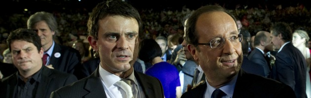 Manuel Valls - Francois Hollande