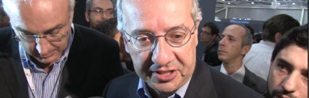 """Veltroni: """"Io sindaco di Roma? Per ora non ci sto pensando"""" (video)"""