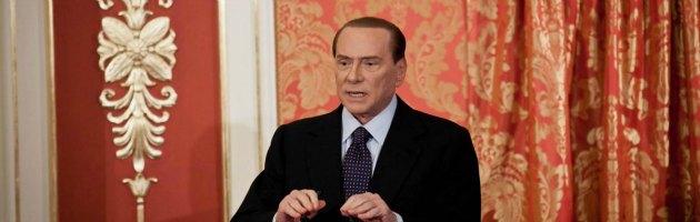 """Berlusconi: """"In Italia regime di estorsione fiscale. Non mi candido"""""""