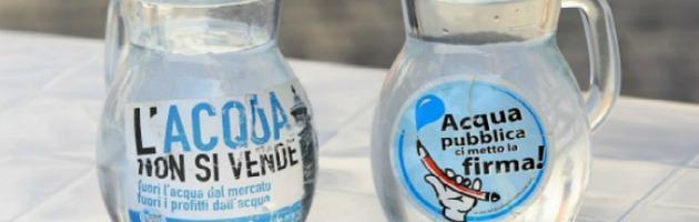 """Acqua pubblica, i comitati tornano in piazza a Reggio: """"Rispettate il referendum"""""""