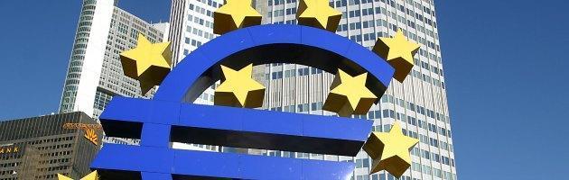 Bce, stime negative per l'Eurozona: più disoccupazione e meno crescita