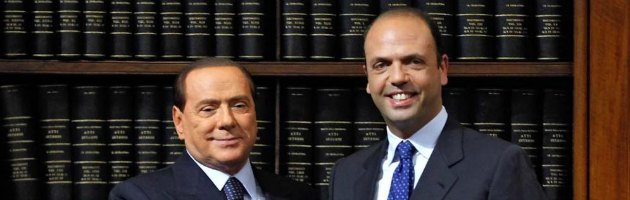 """Pdl, Alfano: """"Confido che Berlusconi rilanci insieme a noi il partito"""""""