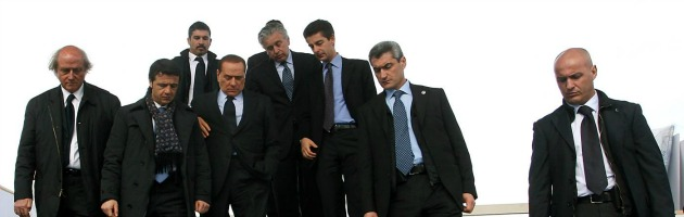 """Berlusconi: """"Mi riducono la scorta"""", ma il Viminale: """"Nessun taglio"""""""