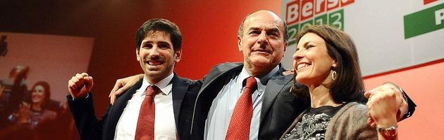 """Primarie, Bersani nella sua Bologna: """"Non ho paura del ballottaggio"""" (foto e video)"""