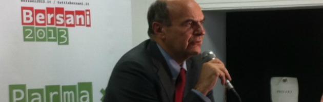 """Bersani cerca i voti di Grillo: """"Giovani venite via, nei 5 Stelle poca democrazia"""""""