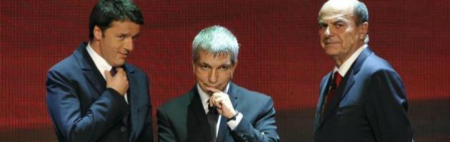 Primarie: Bersani sotto al 50%, Renzi incalza ma non sfonda. Vendola a picco