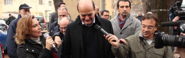 """Bersani: """"Ho sentito Renzi e lo abbraccio. Grillo? La rete non basta"""" (video)"""