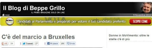 Blog Beppe Grillo