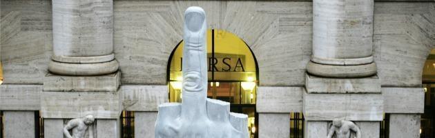 """Crisi e politica, analisti finanziari in piazza con i 5 Stelle: """"L'Esm? Una trappola"""""""