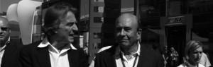 Luca Cordero di Montezemolo ed Emilio Botin