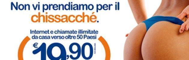 """Palermo, rivolta contro spot sessista. """"Stop a pubblicità che usa il corpo delle donne"""""""