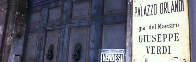 Bicentenario Verdi: il governo stanzia milioni, ma la casa del maestro è in vendita