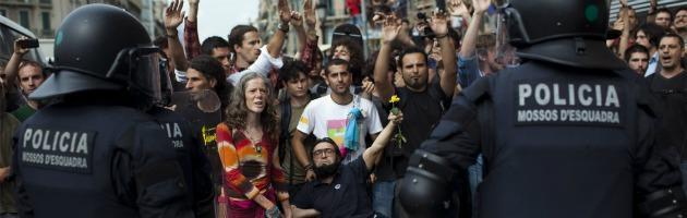 Manifestazione Spagna