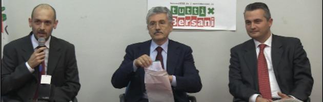 """D'Alema tira la volata a Bersani. """"Non mi candido ma valgo 800 mila voti"""" (video)"""