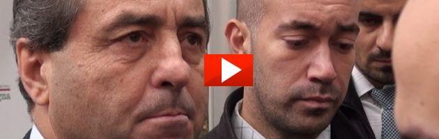 """Di Pietro a Bologna: """"A breve darò le dimissioni da presidente Idv"""" (video)"""