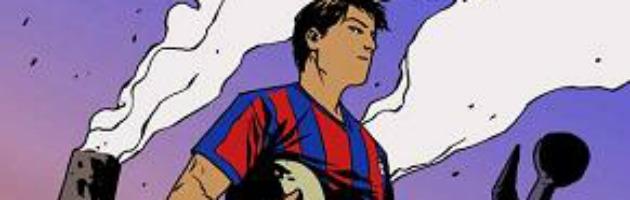 L'Ilva, il calcio e Taranto: la graphic novel dell'Eroe dei due mari a Bologna