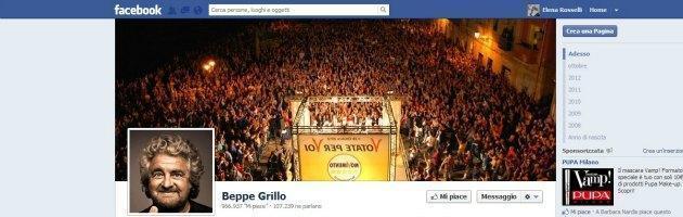 """Grillo vs Fazio, Formigli e Lerner: """"Pretoriani del sistema, in tv per grazia ricevuta"""""""