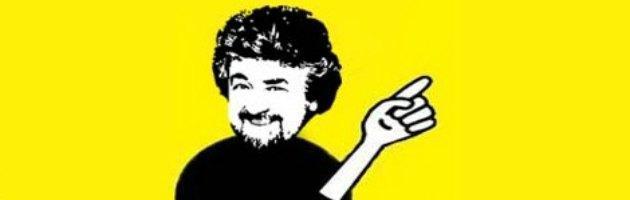 """Grillo: """"Di Pietro è amico, non è alleato. No talk show per i 5 Stelle"""""""
