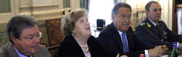 Manganelli e Cancellieri