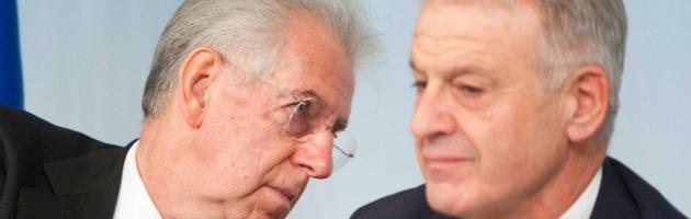 Mario Monti e Corrado Clini