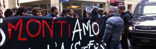 Protesta studenti Parma