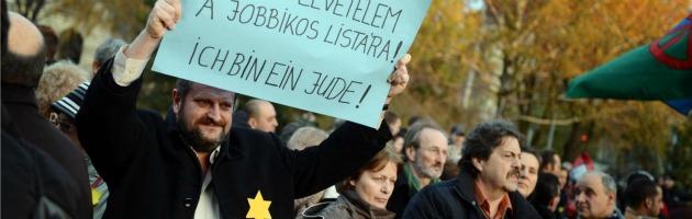 """Ungheria, l'ultradestra: """"Serve una lista di funzionari ebrei, sono una minaccia"""""""
