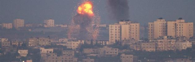 Razzi su Gaza