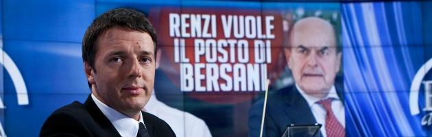 Renzi e Bersani tv sfida tv