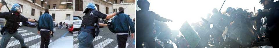 L'Europa in piazza contro l'austerity Scontri a Torino e Padova. Caos Roma