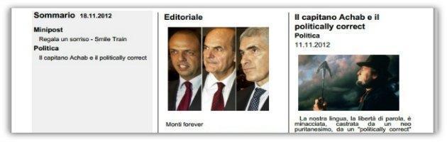Alfano, Bersani, Casini