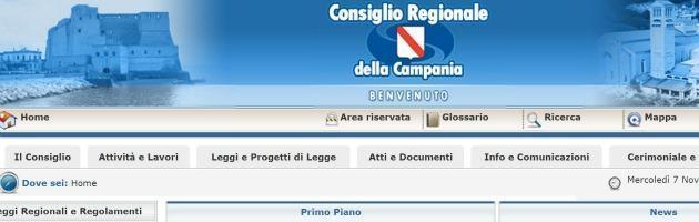 """Campania, bocciato il sito della Regione. """"Malfunzionante e poco trasparente"""""""