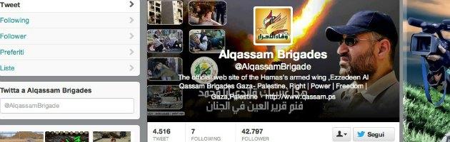Hamas su Twitter: sette repubblicani Usa chiedono la chiusura dell'account