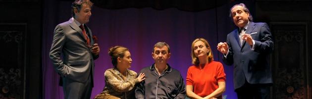 'Il malanno immaginario', Vito, Malandrino e Veronica rileggono Moliere