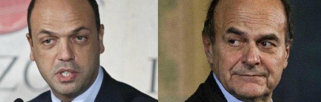 """Agenda Monti, Bersani """"L'ascolteremo"""". Alfano: """"Preclusa ogni collaborazione"""""""