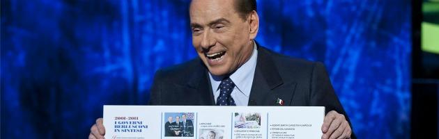 """Berlusconi a """"Domenica in"""": oltre la lite, la bufala finale sui """"costi"""" di Monti"""