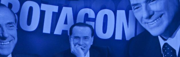 """Elezioni, Berlusconi continua il doping tv. Il Pd all'Agcom: """"Presenza abnorme"""""""