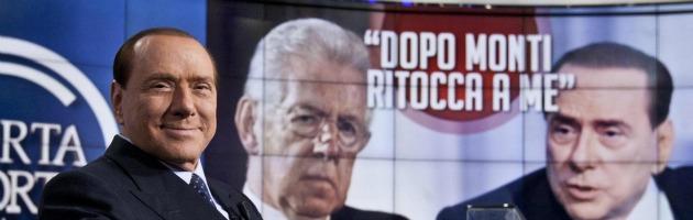 Berlusconi a Porta a Porta