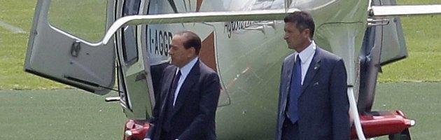 """Berlusconi: """"In gara per vincere. Alfano? Serve tempo per imporsi come leader"""""""
