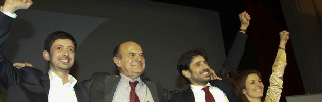 "Primarie centrosinistra, vince Bersani: ""Ora governare senza favole"""