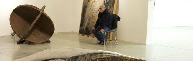 """""""Faccia a faccia"""", il Mambo celebra Mario Ceroli che 'imbragò' il Nettuno (gallery)"""