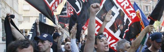Estrema destra a Verona, assalti tra 'rivali': Forza Nuova contro Casapound