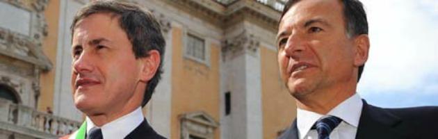 Frattini e Alemanno