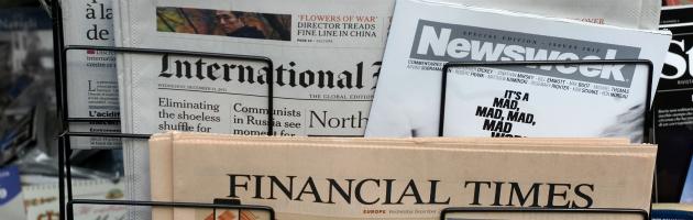 Crisi governo, per i giornali stranieri sarà lunedì nero per l'Italia sui mercati