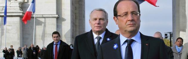 Hollande e Ayrault