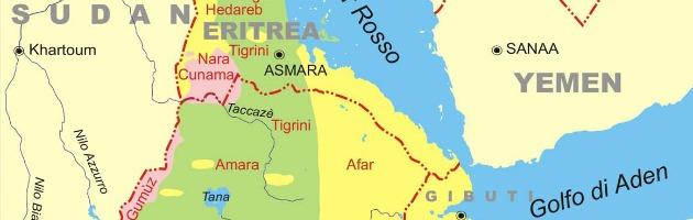 Mappa Eritrea