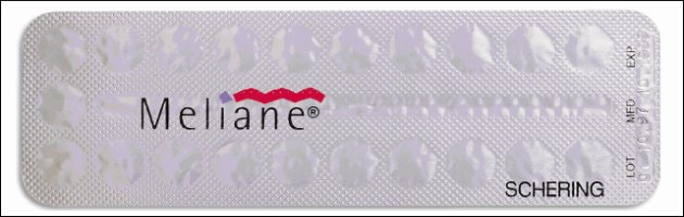 Pillola Anticoncezionale Meliane