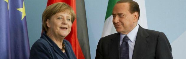 Angela Merkel - Silvio Berlusconi