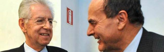 """Elezioni, ora Bersani teme Monti a capo dei moderati """"ripuliti"""""""