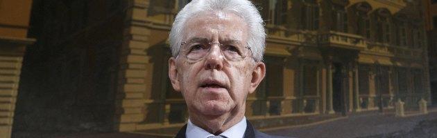 """Monti: """"Agire per le riforme. A sinistra conservatori come Vendola e Fassina"""""""