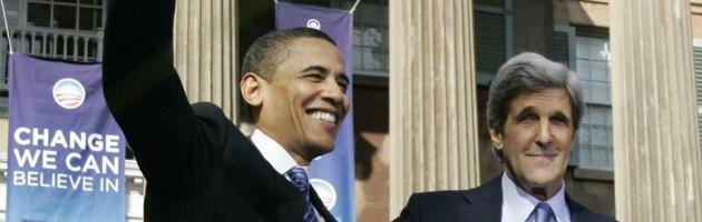 Usa, Kerry segretario di Stato. Dalla sfida a Bush al sostegno per Obama